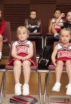 """GLEE: In a hallucination, Will sees the members of the glee club as children in """"The Substitute"""" episode of GLEE airing Tuesday, Nov. 16 (8:00-9:00 PM ET/PT) on FOX. ©2010 Fox Broadcasting Co. CR: Adam Rose/FOX"""