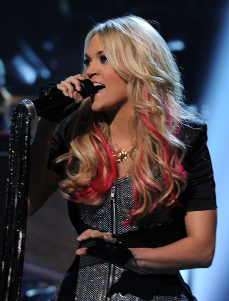 onstage during the 46th Annual Academy Of Country Music Awards held at the MGM Grand Garden Arena on April 3, 2011 in Las Vegas, Nevada.