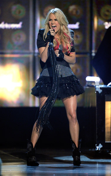 onstage at the 46th Annual Academy Of Country Music Awards held at the MGM Grand Garden Arena on April 3, 2011 in Las Vegas, Nevada.