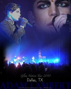 Adam Lambert – Glam Nation Tour – Palladium Ballroom – Dallas TX – 09/07/10