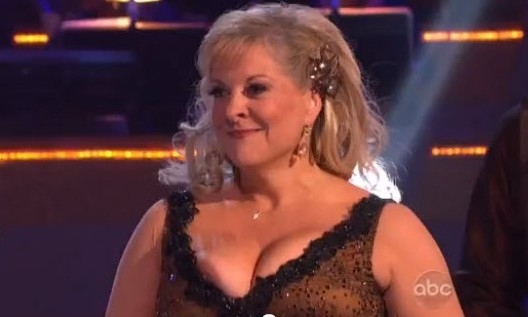 The Worst Wardrobe Malfunction in History! Nancy Grace Nipple Slip on