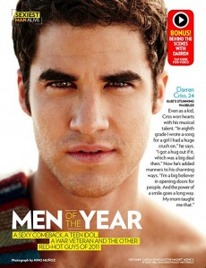 Darren Criss is Shirtless…and Stuff for People's Sexiest Man Alive Issue