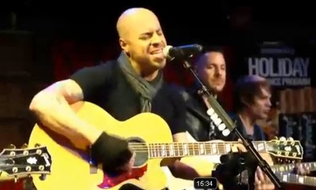 Chris Daughtry concert for Duracell