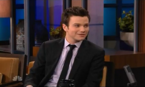 "Chris Colfer Promotes ""Michael"" on The Tonight Show (Video)"