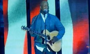 Javier Colon – The National Anthem – NHL All Star Game