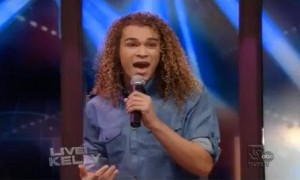 "DeAndre Brackensick – ""I Like It"" – Live! With Kelly (VIDEO)"