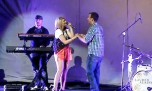 Lauren Alaina Has Her Own Prom – On Stage in Kentucky – (VIDEO)