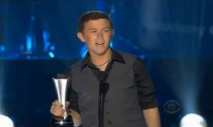 """ACM Awards 2012: Scotty McCreery Sings """"Water Tower Town"""", Wins Best New Artist (VIDEO)"""