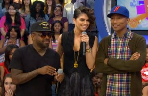 Leah Labelle Gets Advice from Justin Bieber – 106 & Park (VIDEO)