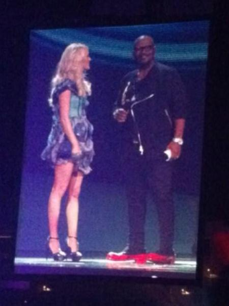 Randy Jackson Auditions An Idol Hopeful At Carrie Underwood S