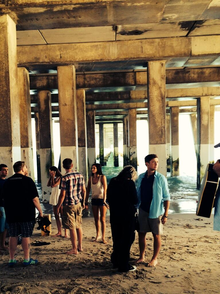 Scotty McCreery-Feelin It-Video Behind The Scenes Pic-3
