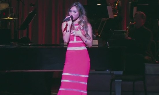 Jessica Sanchez - Killing Me Softly - Johnny Mathis Tribute - Great American Songbook Hall of Fame