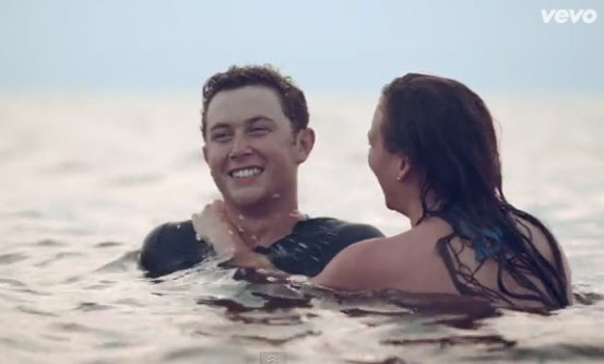 scotty mccreery dating Whether singing a song or throwing a curve ball—literally—scotty mccreery is a scotty's desire to be an he proposed to his longtime girlfriend and.