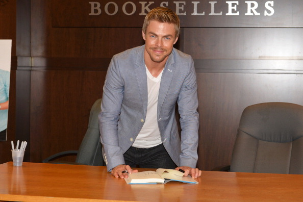 """Derek Hough Book Signing For """"Taking The Lead: Lessons From A Life in Motion"""""""