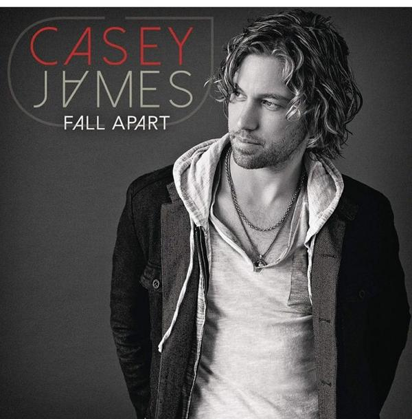 Casey James - Fall Apart - Cover Art