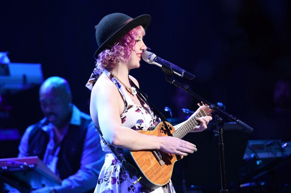 AMERICAN IDOL XIV:  Joey Cook performs at House of Blues for the IDOL SHOWCASE airing Wednesday, Feb. 18 (8:00-9:01 PM ET/PT) and Thursday, Feb. 19 (8:00-9:00 PM ET/PT). CR: Michael Becker / FOX.  © 2015 FOX Broadcasting.