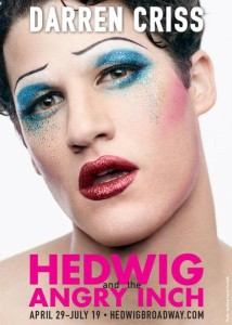 Darren Criss Reveals His Glam Look For Hedwig (PHOTO)