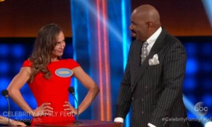 Celebrity Family Feud feat. DWTS vs The Bachelor (VIDEO)