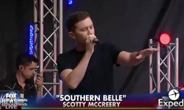Scotty McCreery - Fox and Friends - Southern Belle
