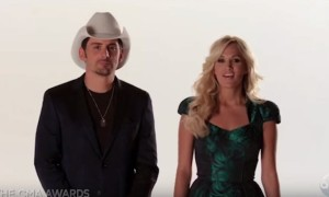 Carrie Underwood and Brad Paisley to Co-Host CMA Awards for an 8th Time