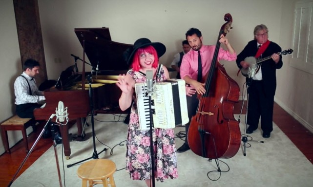 "Joey Cook and Postmodern Jukebox ""Hey There Delilah"" Video 