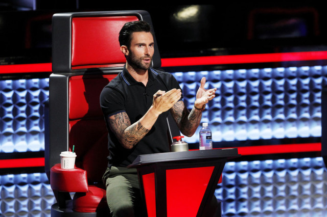 THE VOICE -- Episode 712B -- Pictured: Adam Levine -- (Photo by: Trae Patton/NBC)