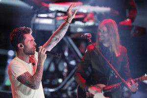 Adam Levine and Maroon 5 In Talks for Super Bowl Halftime (REPORT)