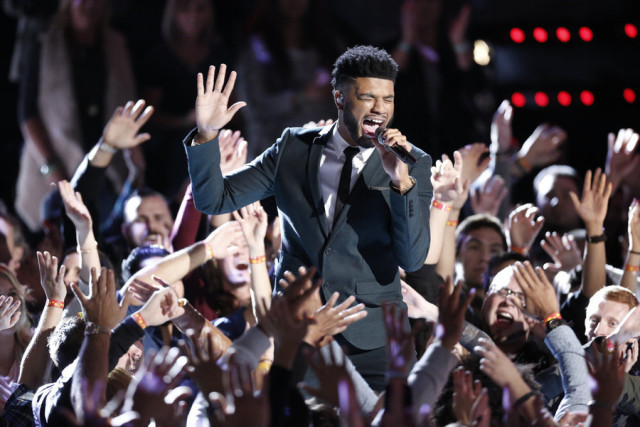 The Voice 9 Top 12 Predictions, Poll Results, ITunes Charts -- Pictured: Mark Hood -- (Photo by: Tyler Golden/NBC)