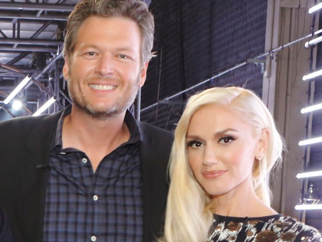 Gwen Stefani and Blake Shelton The Voice