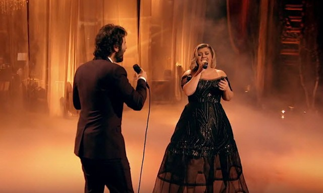 """Kelly Clarkson and Josh Groban sing """"All I Ask of You"""" from Phantom of the Opera - Josh Groban's Stages TV Special"""