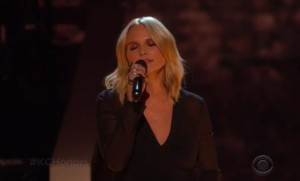 "Miranda Lambert Sings ""Desperado"" Kennedy Center Honors (VIDEO)"