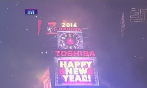 Watch New Years 2016 Ball Drop in Times Square (VIDEO)