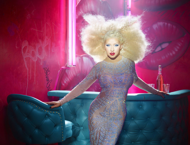 THE VOICE -- Season: 10 -- Pictured: Christina Aguilera -- (Photo by: David LaChapelle/NBC)
