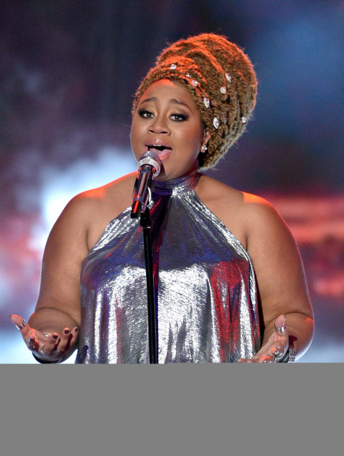 AMERICAN IDOL: Top 3 Revealed: Contestant La'Porsha Renae performs on AMERICAN IDOL airing Thursday, March 31 (8:00-10:00 PM ET/PT) on FOX. © 2016 FOX Broadcasting Co. Cr: Michael Becker/ FOX. This image is embargoed until Thursday, March 31,10:00PM PT / 1:00AM ET