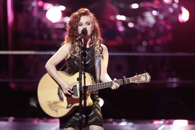 """THE VOICE -- """"Knockout Rounds"""" -- Pictured: Kata Hay -- (Photo by: Tyler Golden/NBC)"""