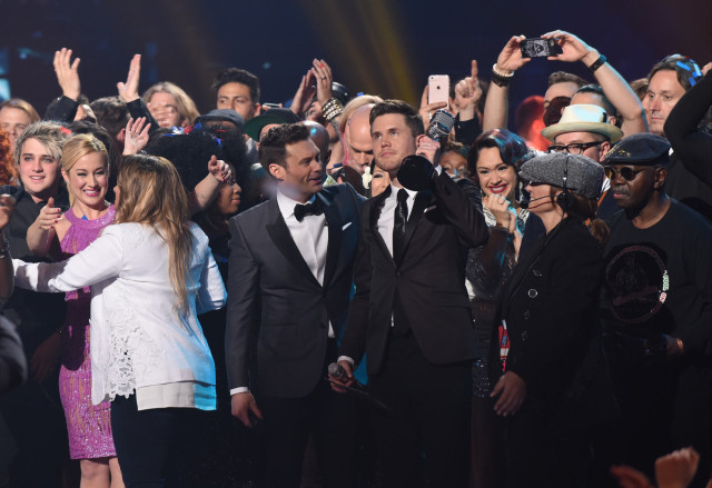 AMERICAN IDOL: Trent Harmon is the American Idol during the AMERICAN IDOL Finale airing Thursday, April 7 (8:00-10:06 PM ET Live/PT tape-delayed) on FOX. © 2016 FOX Broadcasting Co. Cr: Ray Mickshaw/FOX