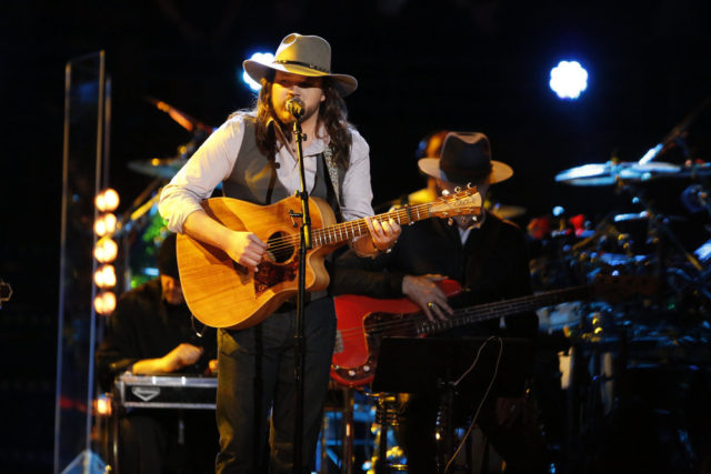 """THE VOICE -- """"Live Finale"""" Episode: 1018A -- Pictured: Adam Wakefield -- (Photo by: Trae Patton/NBC)"""