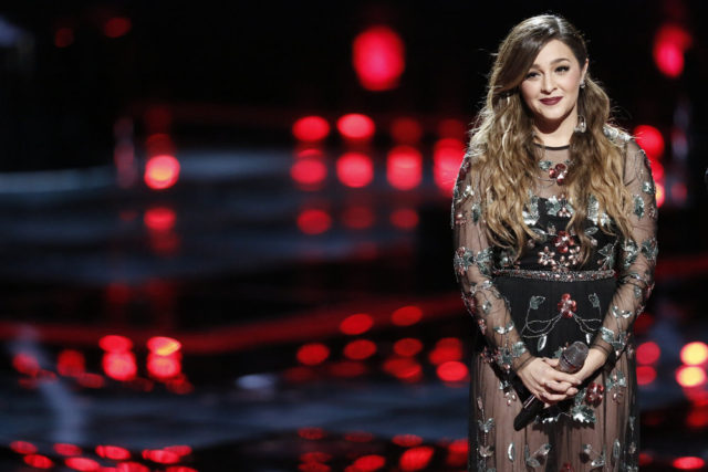 """THE VOICE -- """"Live Finale"""" Episode 1018A -- Pictured: Alisan Porter -- (Photo by: Tyler Golden/NBC)"""