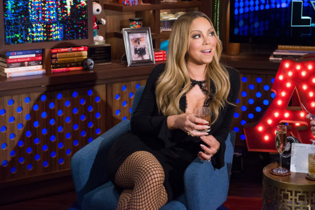 WATCH WHAT HAPPENS LIVE -- Episode 13092 -- Pictured: Mariah Carey -- (Photo by: Charles Sykes/Bravo)