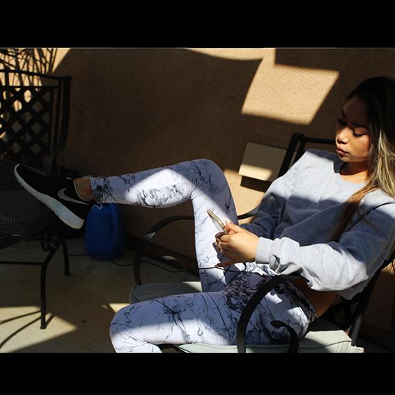 Jessica Sanchez Leggings 2