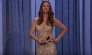 Kristen Wiig's Hilarious JoJo Fletcher Tonight Show Impersonation (VIDEO)
