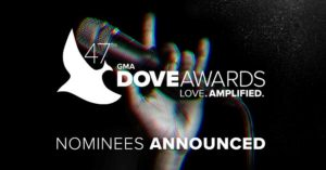 2016 Dove Awards Full Nominations List – Danny Gokey, Lauren Daigle