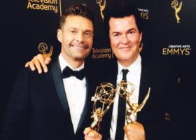 Simon Fuller Jokes About 2018 'American Idol' Return While Accepting Emmy Governors Award