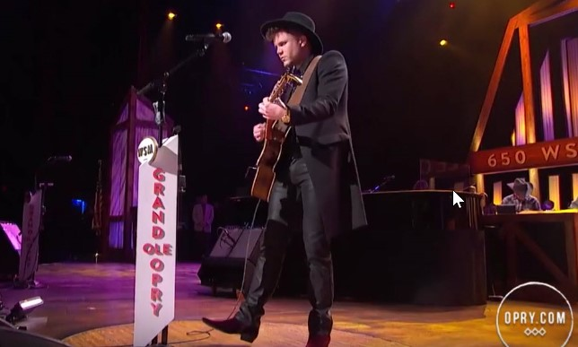 Trent Harmon - There's a GIrl - Grand Ole Opry debut