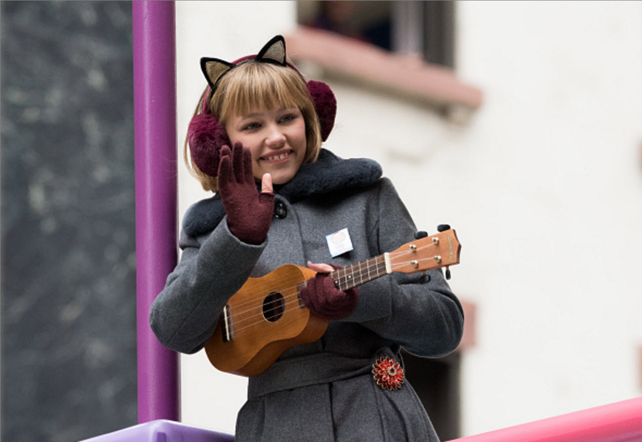 Grace Vanderwaal 2017 Macy's Thanksgiving Day Parade