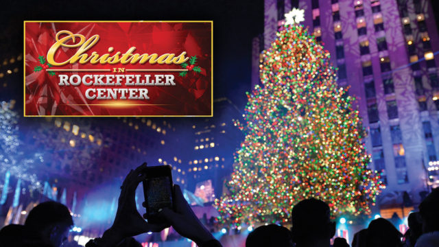 "CHRISTMAS IN ROCKEFELLER CENTER -- Pictured: ""Christmas in Rockefeller Center"" Logo -- (Photo by: NBCUniversal)"