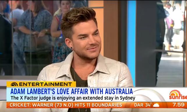 Adam Lambert Sunrise 2016 X Factor Australia - Iggy Azalea is a Diva