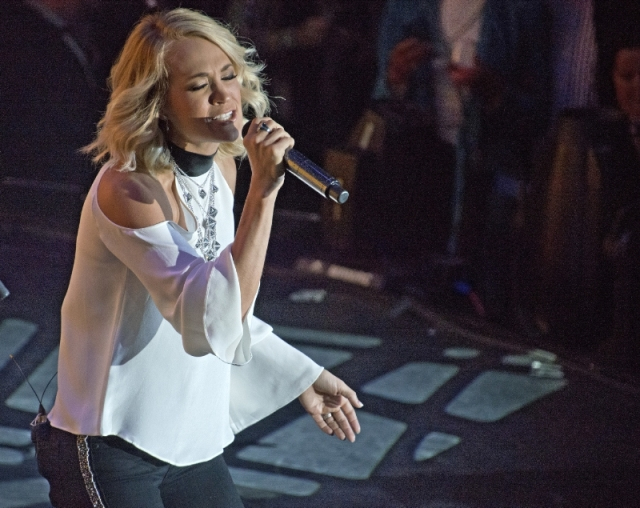 Carnival Cruise Line - Carrie Underwood performs