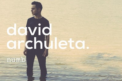 David Archuleta - Numb - Single Cover